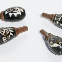 Tagua pipes